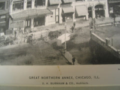 Great Northern Annex, Chicago, IL, 1897, D. H. Burnham and Co.