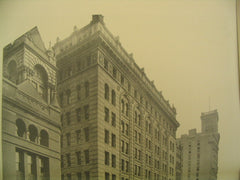 Exchange Court on 52 Broadway and Exchange Place, New York, NY, 1901, Clinton and Russell