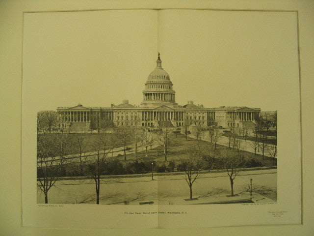 East Front of the United States Capitol, Washington, DC, 1904, Unknown