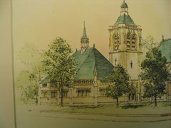 First M. E. Church, Germantown, PA, 1896, George T. Pearson