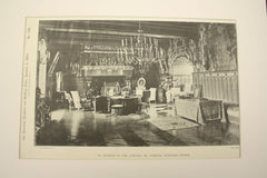 Interior of the Chateau de Josselin , Morbihan, France, EUR, 1890, Unknown