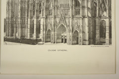 Cologne Cathedral , Cologne, Germany, EUR, 1891, n/a