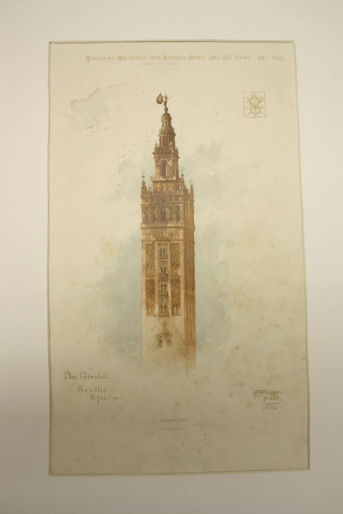Giralda, part of the Cathedral, Seville, Spain, EUR, 1890, n/a