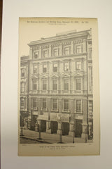 House on Museum Place , Budapest, Hungary, EUR, 1890, Nic. Von Ybl