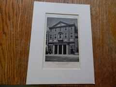 Harvard Co-Operative Society,Cambridge,MA, 1928, Lithograph. Perry, Shawn, Hepburn.