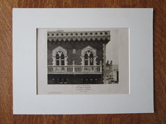 City Club, St. Louis, MO, 1924, Lithograph.  T.P. Barnett Co.