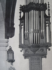 Organ, Second Congregational Church, Lynn, MA, 1911, Litho. Nelson & Van Wagenen