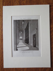 Portico, Union Passenger Station, Richmond, VA, 1916, Litho. John Russell Pope
