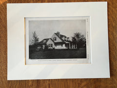 Pierre Du Pont Estate, Longwood, PA, 1916, Lithograph. William Martin