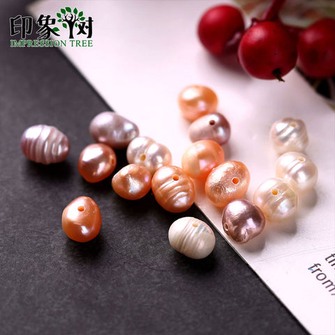 6-7mm AAA High Quality Natural Freshwater Pearl 6-12mm Irregular Pearl Freeform Pearls For DIY Necklace Jewelry Making 19057