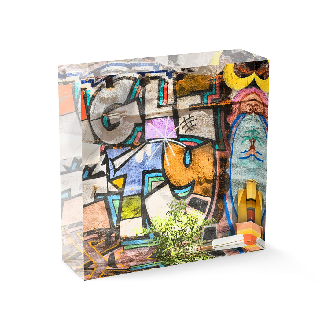 Graffiti (Acrylic Block)