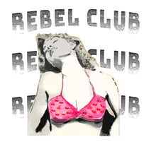 Load image into Gallery viewer, Rebel Club Cropped Hoodie