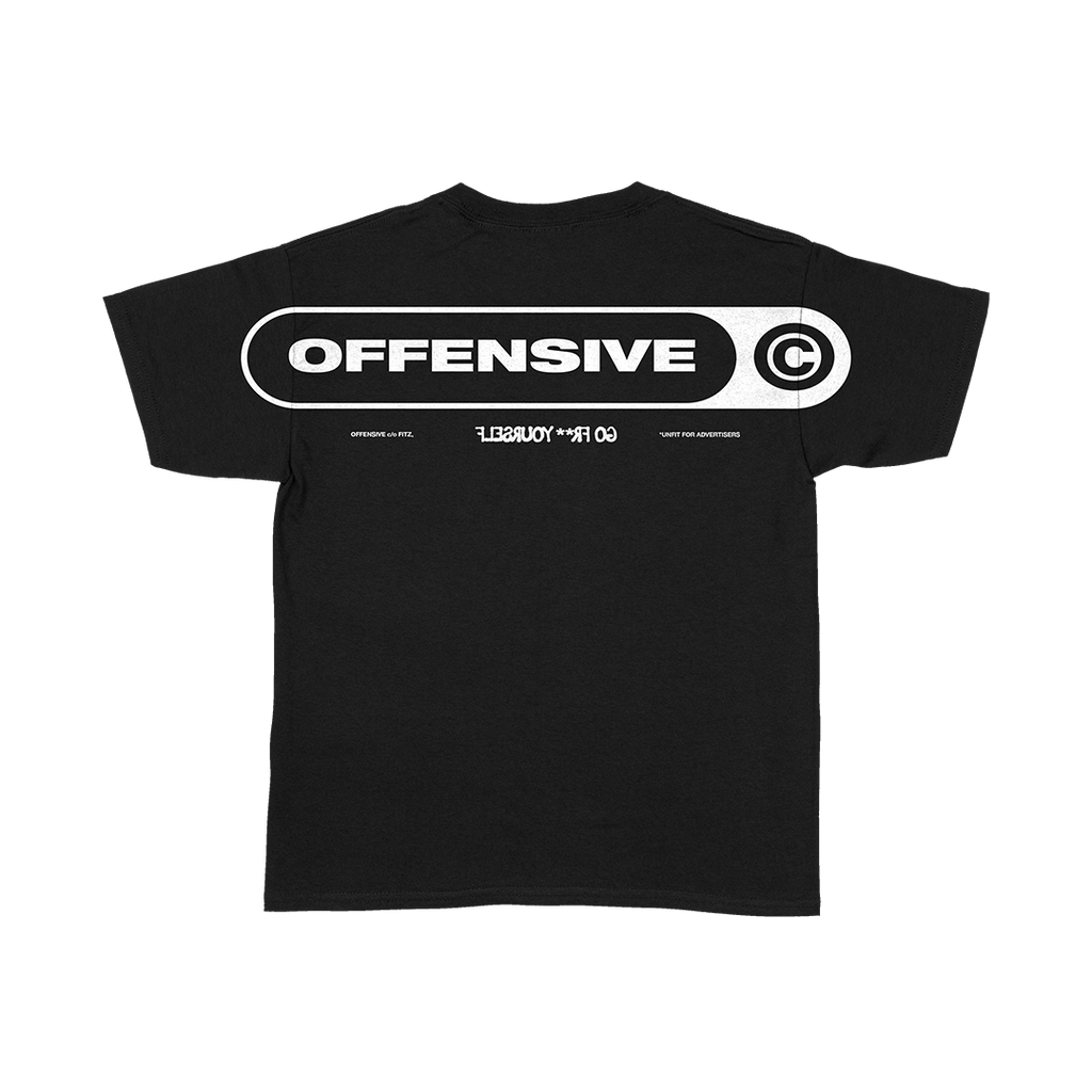 Offensive Back Print