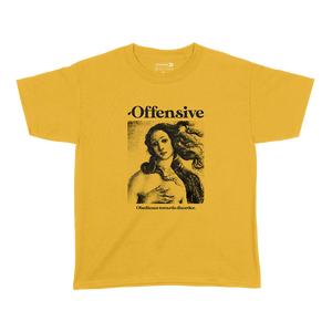 Venus Portrait Shirt (Yellow)