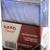 "Card Concept Toploaders 3"" x 4"" (76 x 102mm) 15Guage Thinkness (25 Pack)"
