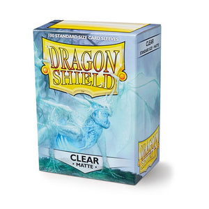 Dragon Shield Standard Card Sleeves - Clear Matte