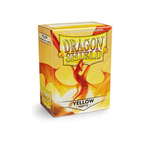 Dragon Shield Standard Card Sleeves - Yellow Matte