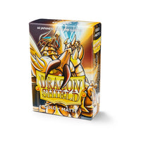 Dragon Shield Small Card Sleeves - Gold Matte - Ultimate TCG Limited