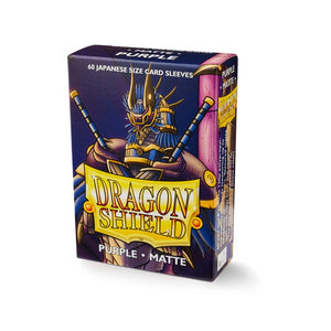 Dragon Shield Small Card Sleeves - Purple Matte - UltimateTCG