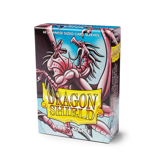 Dragon Shield Small Card Sleeves - Matte Pink - UltimateTCG