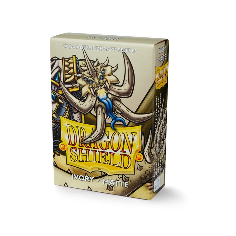 Dragon Shield Small Card Sleeves - Ivory Matte - UltimateTCG