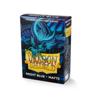 Dragon Shield Small Card Sleeves - Night Blue Matte - UltimateTCG