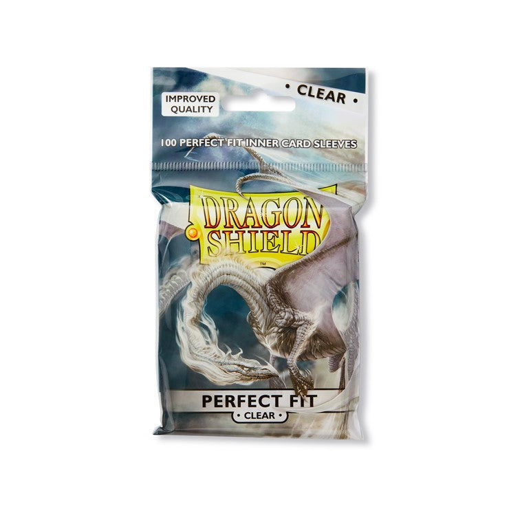Dragon Shield Standard Perfect Fit Sleeves - Clear
