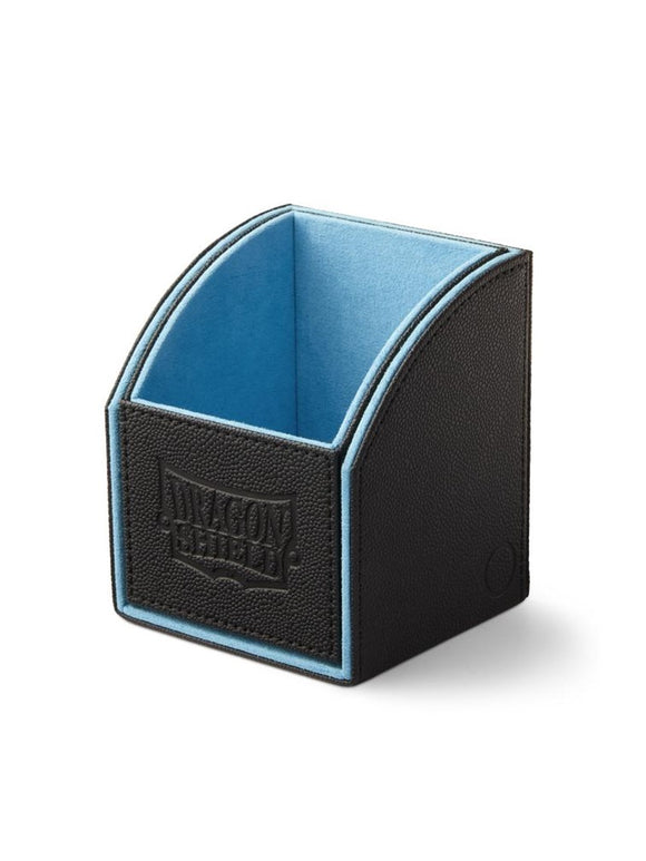 Dragon Shield Nest 100 Deck Box - Black/Blue - UltimateTCG