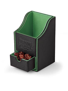 Dragon Shield Nest 100+ Deck Box - Black/Green - UltimateTCG