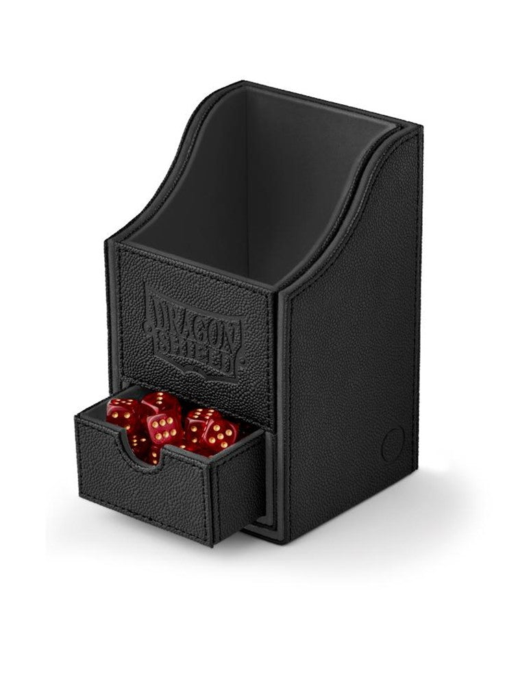 Dragon Shield Nest 100+ Deck Box - Black/Black - UltimateTCG