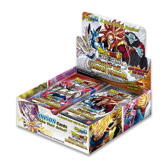 Dragon Ball Super CG B10 Booster Box - Rise of the Unison Warrior - UltimateTCG