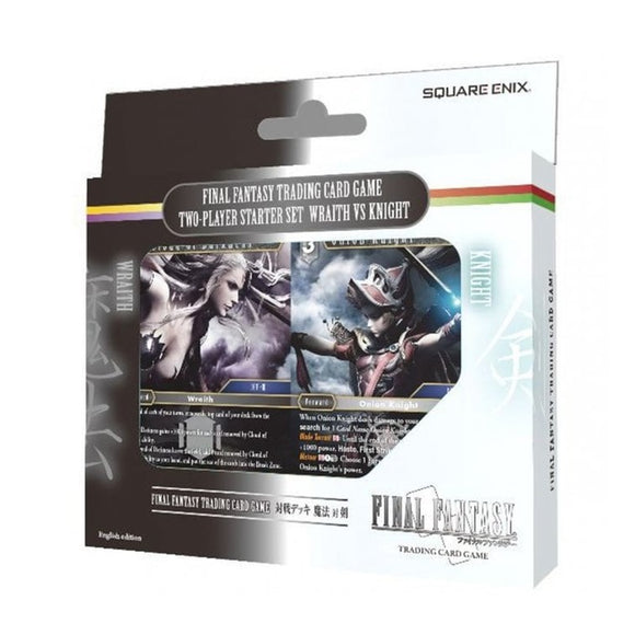 Final Fantasy 2 Player Starter Set - Wraith Vs. Knight - UltimateTCG