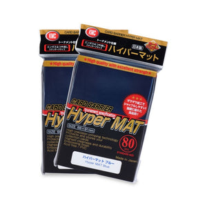 KMC Hyper Mat Standard Card Sleeves - Blue - UltimateTCG