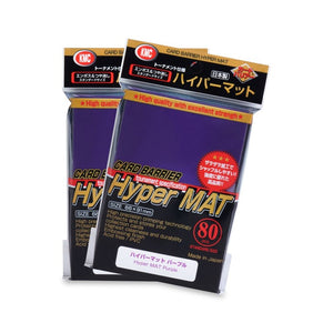 KMC Hyper Mat Standard Card Sleeves - Purple - UltimateTCG