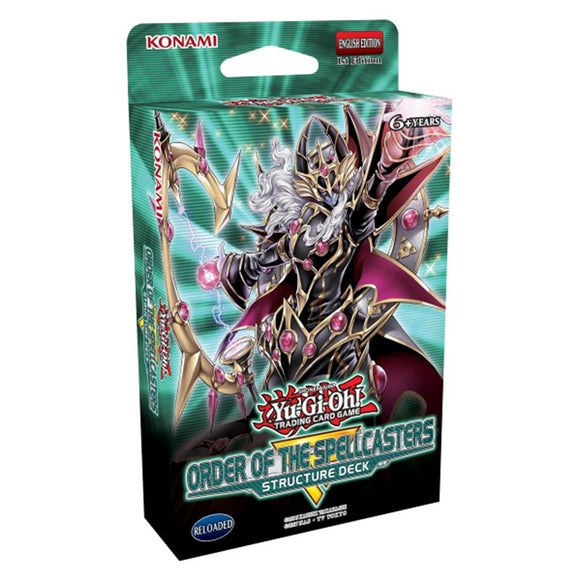Yu-Gi-Oh! Structure Deck: Order of the Spellcasters - UltimateTCG