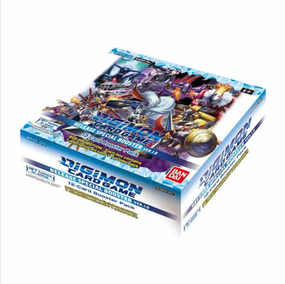 Digimon Card Game Release Special Booster Box Ver.1.0