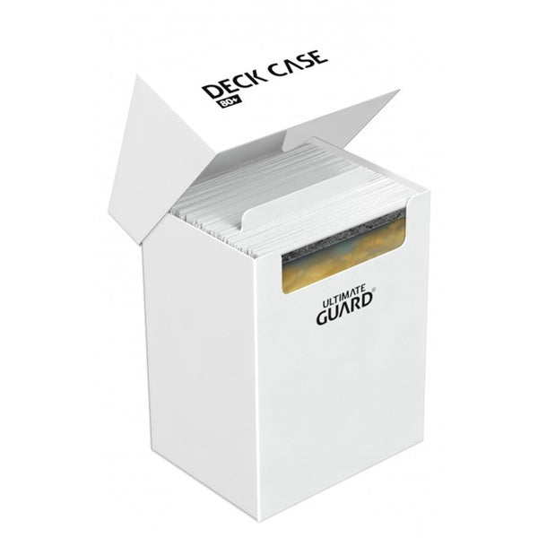 Ultimate Guard Deck Case 80+ - White - UltimateTCG