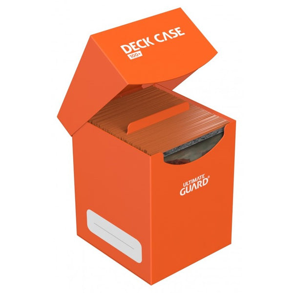 Ultimate Guard Deck Case 100+ - Orange - UltimateTCG