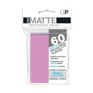Ultra Pro Small Pro Matte Card Sleeves - Pink - UltimateTCG