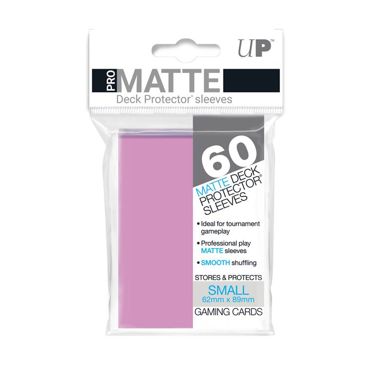 Ultra Pro Small Pro Matte Card Sleeves - Pink - Ultimate TCG Limited