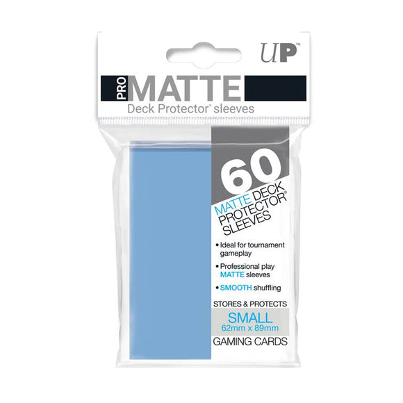 Ultra Pro Small Pro Matte Card Sleeves - Light Blue - UltimateTCG