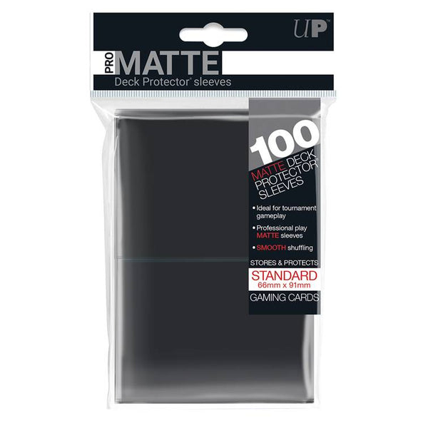 Ultra Pro Standard Pro Matte Card Sleeves - Black - UltimateTCG