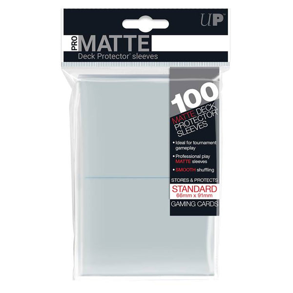 Ultra Pro Standard Pro Matte Card Sleeves - Clear - UltimateTCG