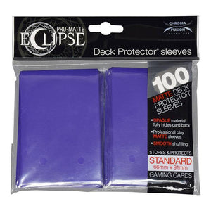 Ultra Pro Eclipse Standard Pro Matte Card Sleeves - Royal Purple - UltimateTCG