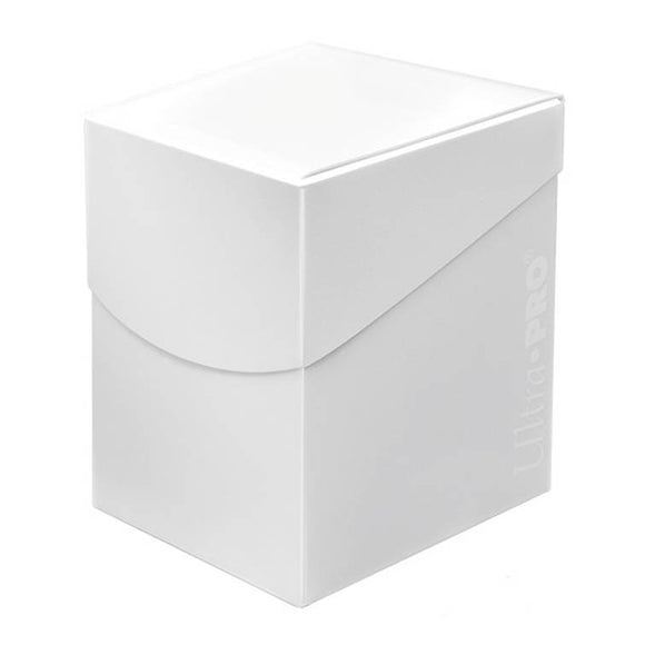 Ultra Pro Eclipse Deck Box - Arctic White - UltimateTCG