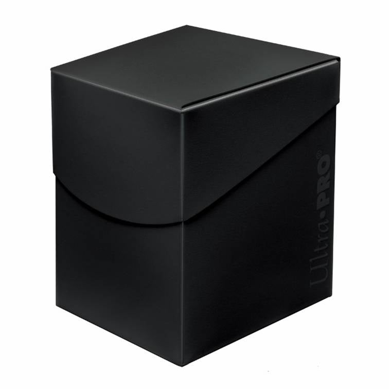 Ultra Pro Eclipse Deck Box - Jet Black - UltimateTCG