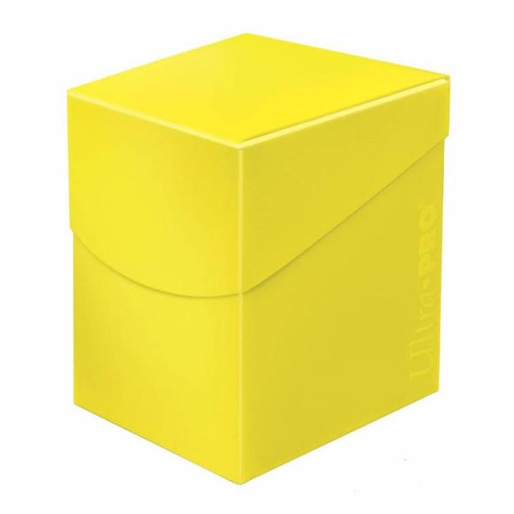 Ultra Pro Eclipse Deck Box - Lemon Yellow - UltimateTCG