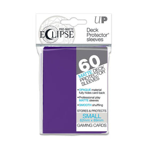 Ultra Pro Eclipse Small Pro Matte Card Sleeves - Royal Purple - UltimateTCG