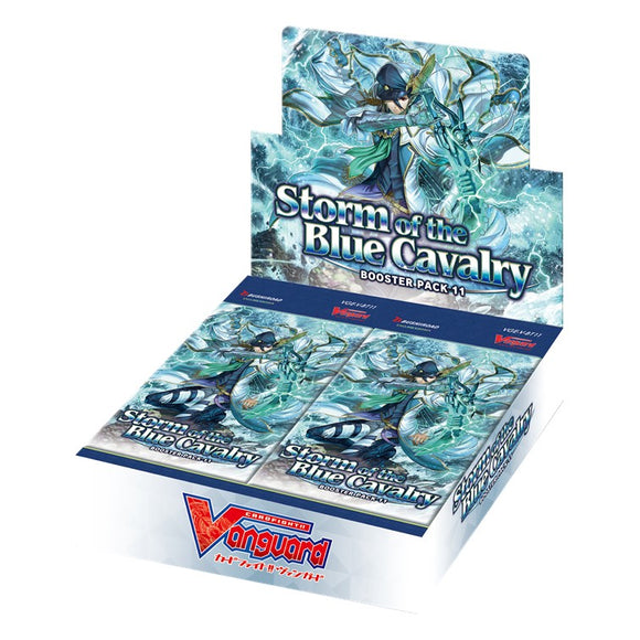 Cardfight!! Vanguard V-BT11 Booster Box - Storm of the Blue Cavalry