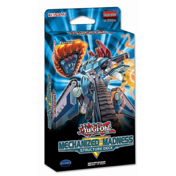 Yu-Gi-Oh! Structure Deck: Mechanized Madness - UltimateTCG